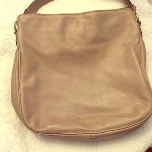 Michael Kors MK Taupe Women's Heidi Hobo Tote Bag